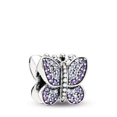 Sparkling Butterfly charm
