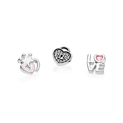 Forever Hearts Petites Locket Charm
