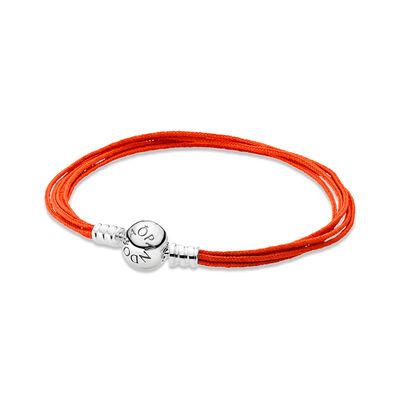 Moments Multi-Strang Armband Orange