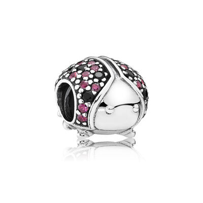 Sparkling Ladybird Charm