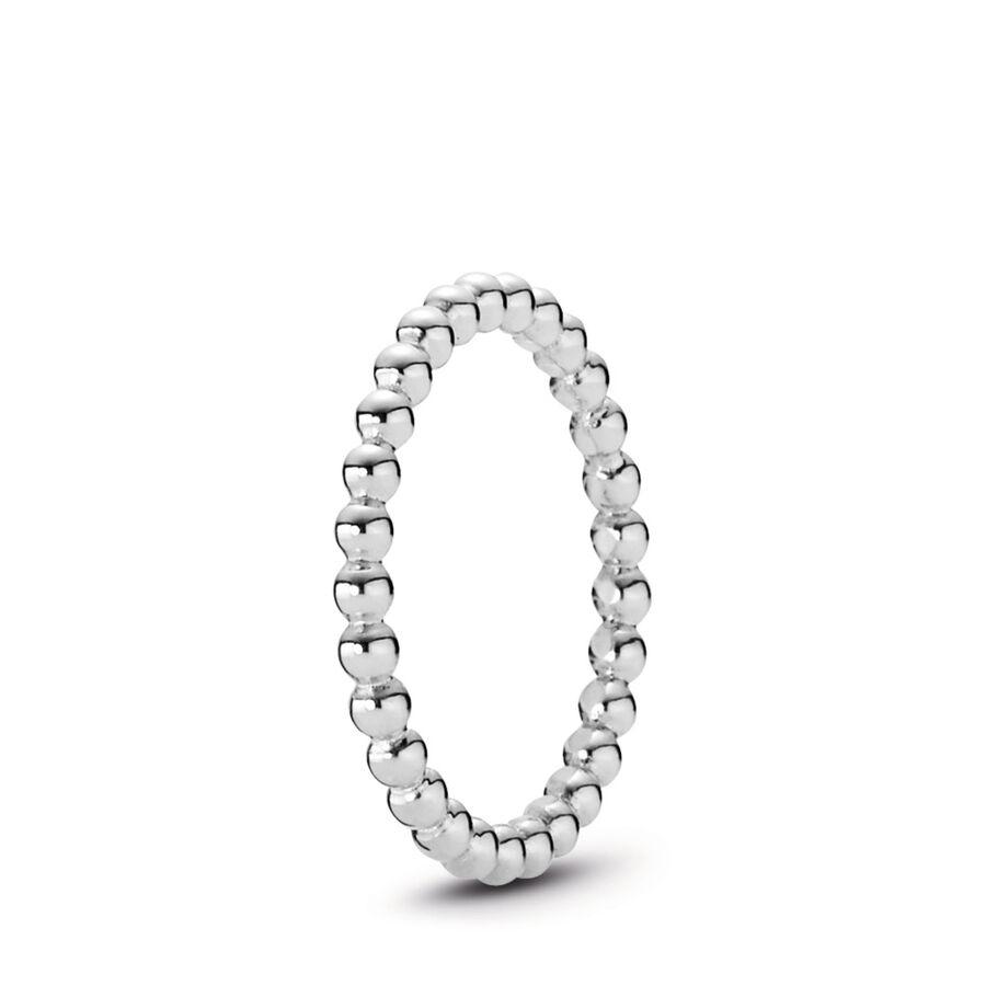 Artikel klicken und genauer betrachten! - Pandora Ringe 190615-56 - Zierliche, glänzende Perlen in Sterling-Silber formen sich zu einem wundervollen Silberring, der deinen Finger hervorragend zieren wird. So schlicht und zurückhaltend, und doch so edel und elegant. Ein PANDORA-Ring, der solo getragen werden kann und auch als Kombinationsring deinen Style ideal zur Geltung bringt. Zusammen mit weiteren Ringen von PANDORA wird deine Kreation zu einem herrlichen Schmuck-Arrangement. - 190615-56 Pandora Ringe   im Online Shop kaufen