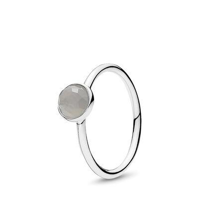 Juni Tröpfchen Ring