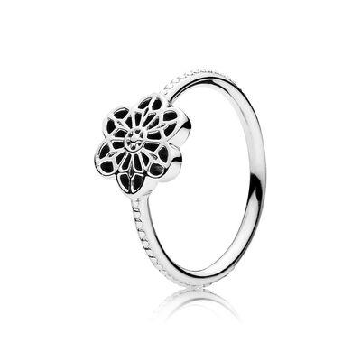 Blütenornament Ring
