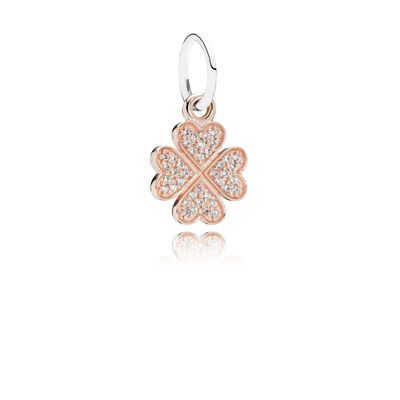 Symbol of Lucky in Love Pendant Charm