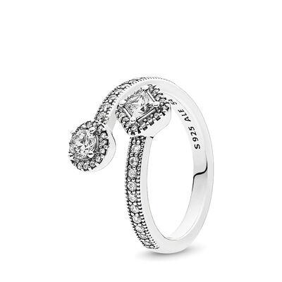 Abstrakte Eleganz Ring