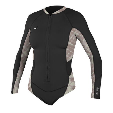 Superlight booty long slv spring surf suit womens