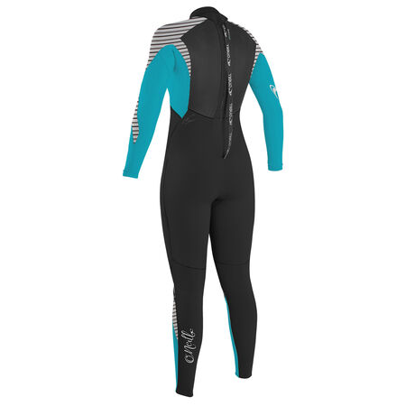 Epic 5/4mm back zip full wetsuit womens