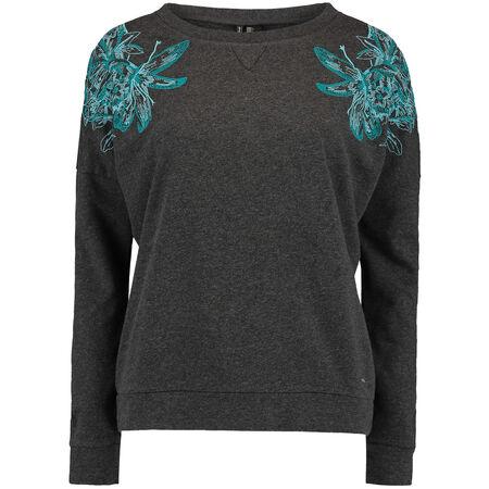 Lace Crew Sweatshirt