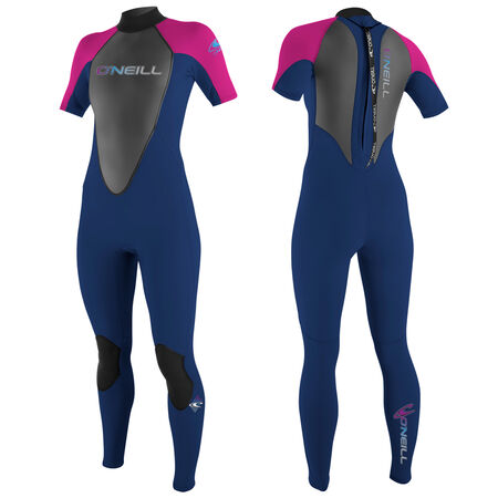 Reactor 3/2mm short sleeve full wetsuit womens