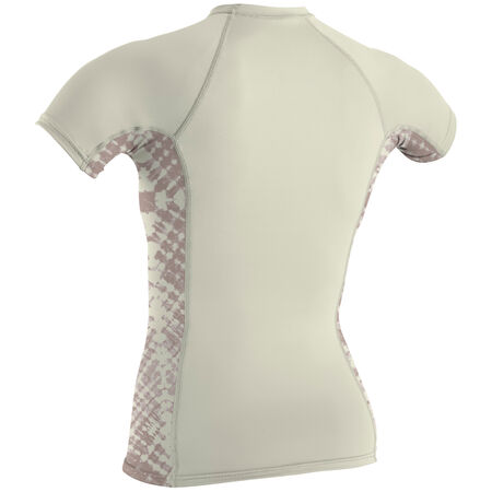 Skins side print short sleeve crew womens