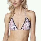 Crochette Edge Triangle Bikini Top