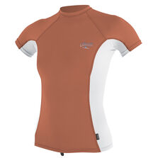 Premium skins short sleeve rash guard womens