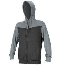 Hybrid zip hoody