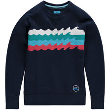Wave after wave sweatshirt
