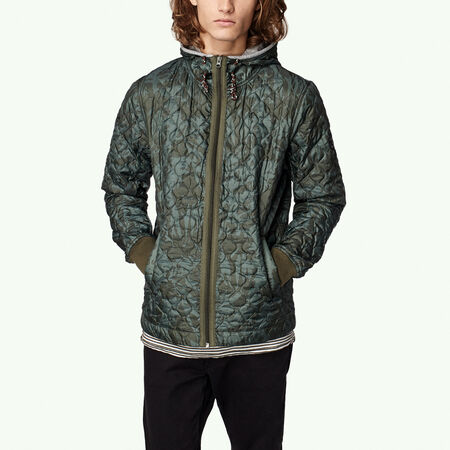 Legacy quilt hooded jacket