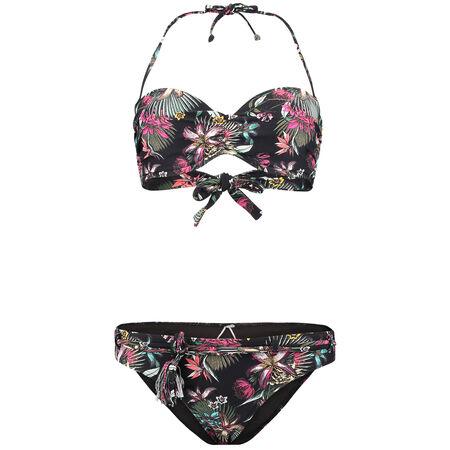 Print Wire Bandeau Bikini