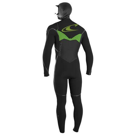 Psychotech fuze 6/4mm hooded full wetsuit