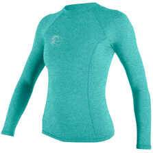 Hybrid long sleeve crew womens