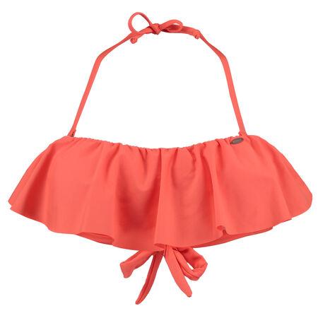 Flounce Bikini Top
