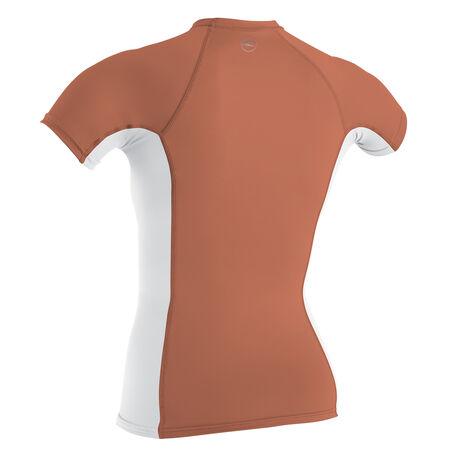 Premium skins short sleeve rash guard womens