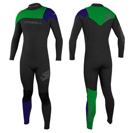Hyperfreak 3/2mm comp ziplless full wetsuit