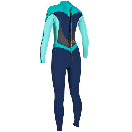 Flair zen zip 3/2mm full wetsuit womens
