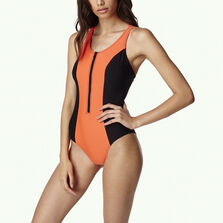 Zip Up Swimsuit