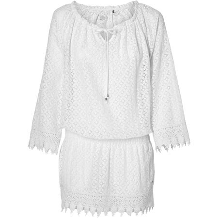 Lace Beach Cover Up Dress