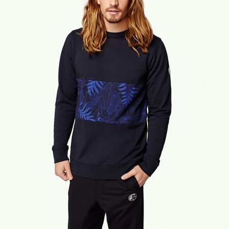 Pattern Block Sweatshirt