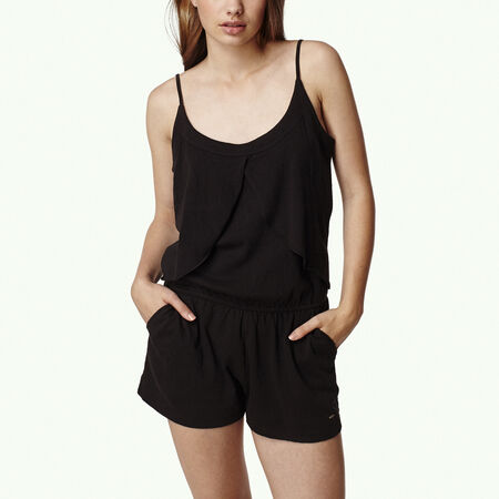 Ruffle Jersey Playsuit