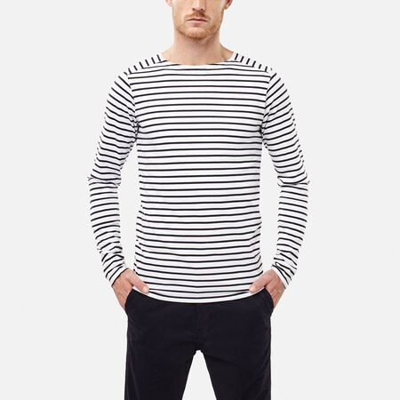 Legacy stripe l/slv top
