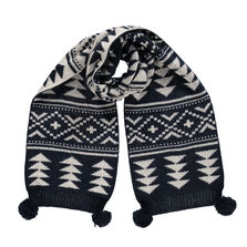 Retro Knitted Scarf