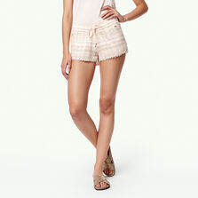 Jacquard Lace Detail Short