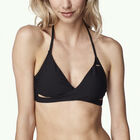 Solid Crossover Bikini Top
