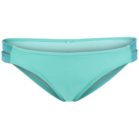 Solid Side Detail Bikini Bottom