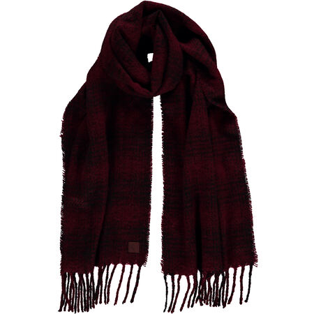 Endless Check Scarf