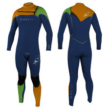 Psycho one f.u.z.e. 5/4mm full wetsuit youth