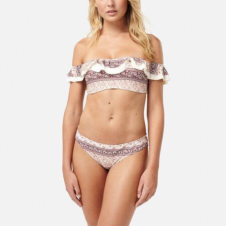 Flouncy Bandeau Bikini