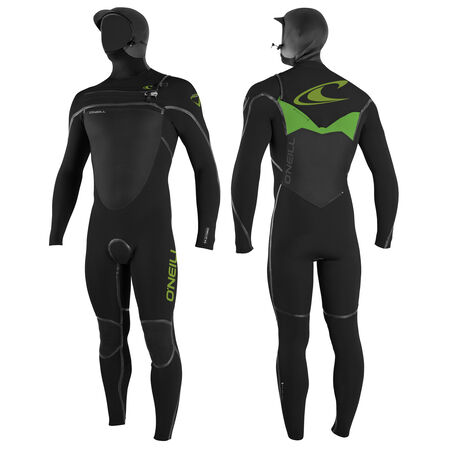 Psychotech fuze 6/4mm hooded full wetsuit