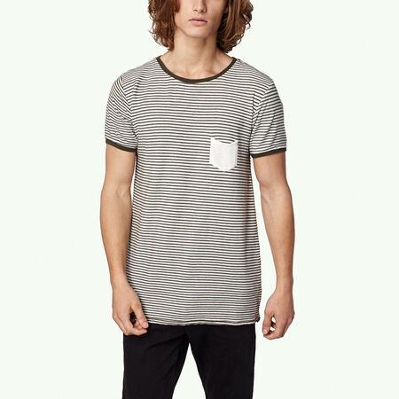 Legacy slub stripe t-shirt