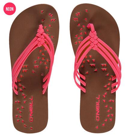 Ditsy Flip flops