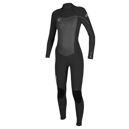 Flair zen zip 5/4mm full wetsuit womens