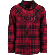Violator Hooded Flannel Shirt