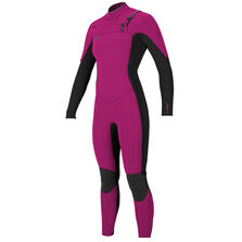 Hyperfreak 3/2mm chest zip full wetsuit womens