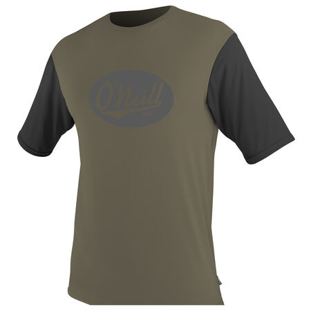 Premium skins graphic short sleeve rash guard