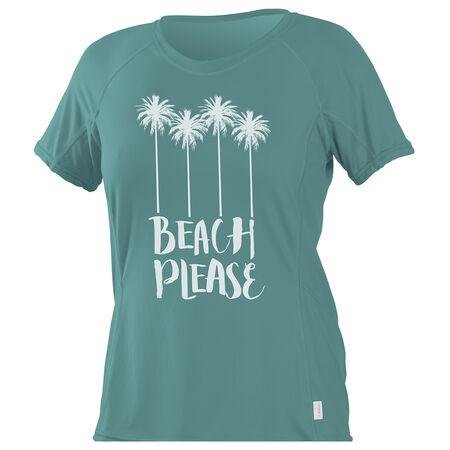 Skins graphic short sleeve sun shirt womens