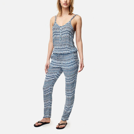 Sand City Print Jumpsuit