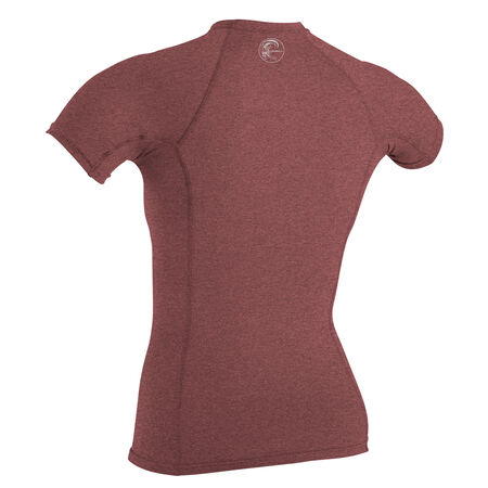 Hybrid short sleeve crew womens