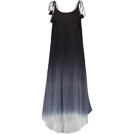 Strappy Midi Dip Dye Dress