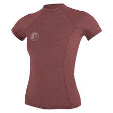 Hybrid short sleeve crew womens